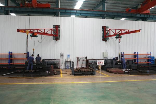 c卧式拆装机生产区域